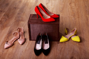 High heels at work are a no-no if you want to succeed